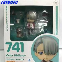 Victor Nikiforov Yuri On Ice Q Version Figure Japanese Anime Figures One Piece Action Childhood Edition