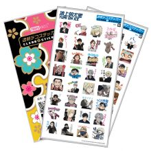 Hot Anime YURI on ICE Luxury Stickers For Mobile Phone Laptop Book Plastic Transparent Decal Toy Sticker Gift