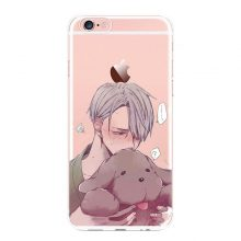2017 New Anime YURI!!! on ICE For iPhone 5 5S SE 6 6Plus 7 7Plus YURI!!! on ICE For iPhone X Cases