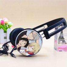 ICE Katsuki Plisetsky Victor Nikiforov Anime Sport Headphone Adjustable Gaming Headset